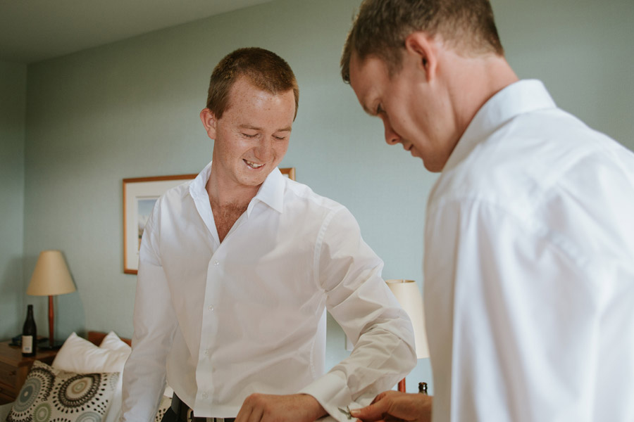 The Groom and boys getting ready shots start the story of your wedding day. Captured by Lake Ohau wedding photographers, Alpine Image Company.