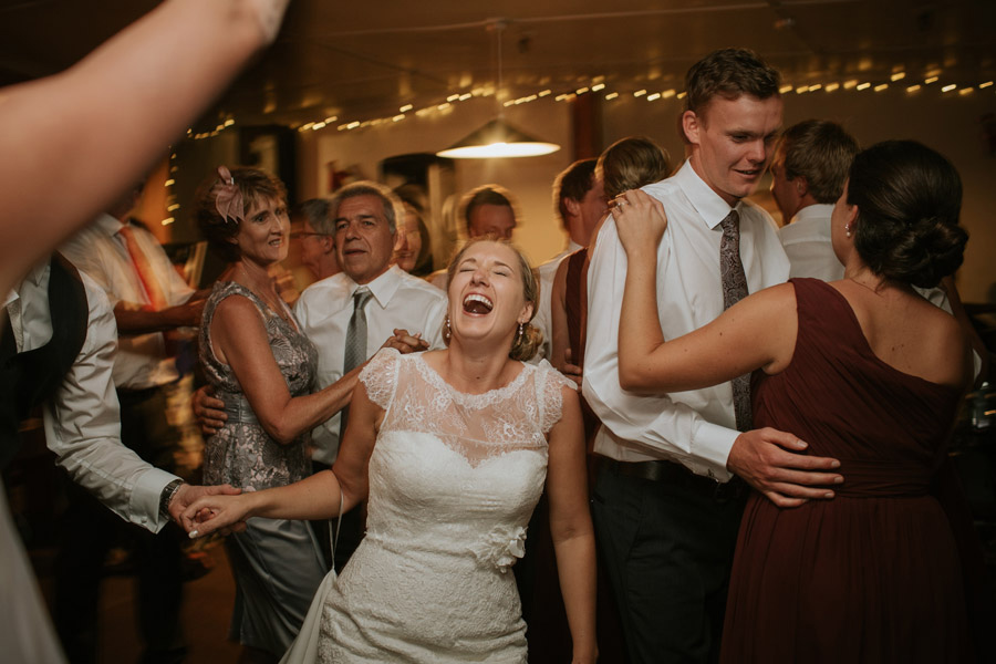 A happy ending from Rebecca and Matt's Lake Ohau destination wedding captured by Lake Ohau wedding photographers Alpine Image Company.