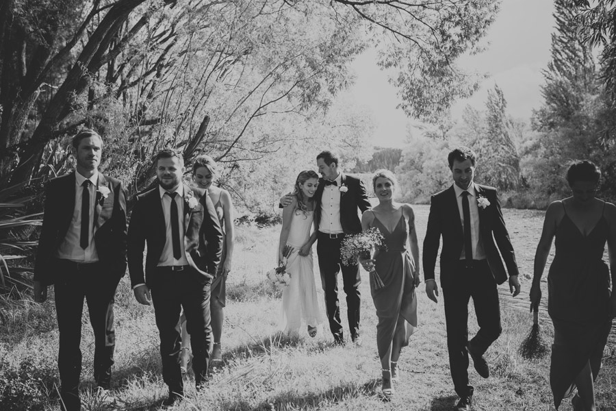 Bridal Party moments from this gorgeous summer wedding in Wanaka, New Zealand captured by Wanaka wedding photographer Alpine Image Company.