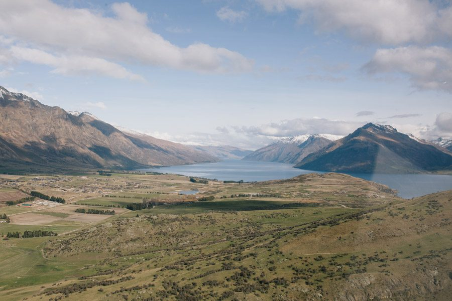 Beautiful Queenstown from the skies