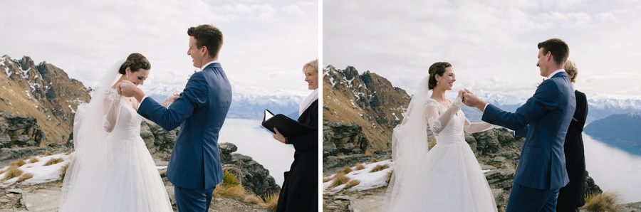 A wonderful moment high up in the mountains of Queenstown