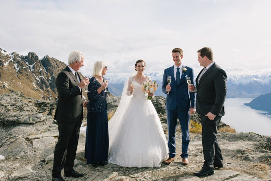 Celebrate with your guests high in the hills