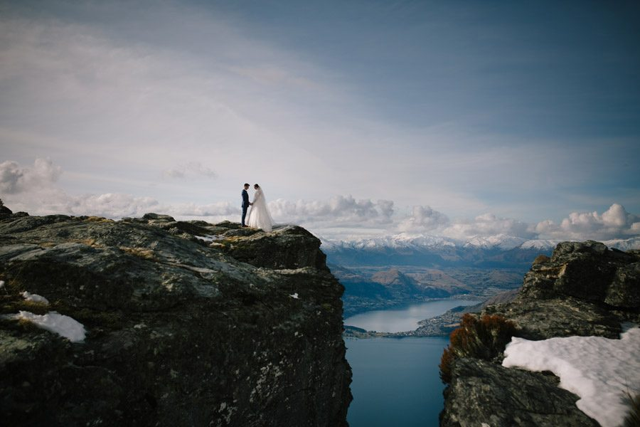 Cliff top beauty on your wedding