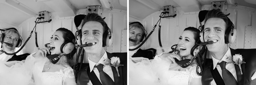 Fun times in a helicopter