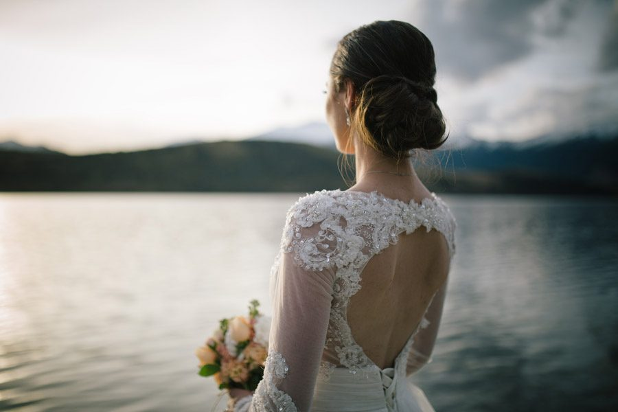 That light, that dress captured by Alpine Image Co.