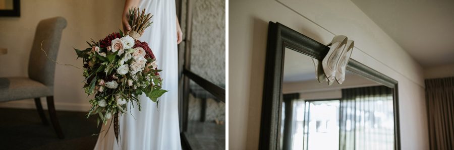 Beautiful bridal details from Estelle and Stas' autumn wedding day.