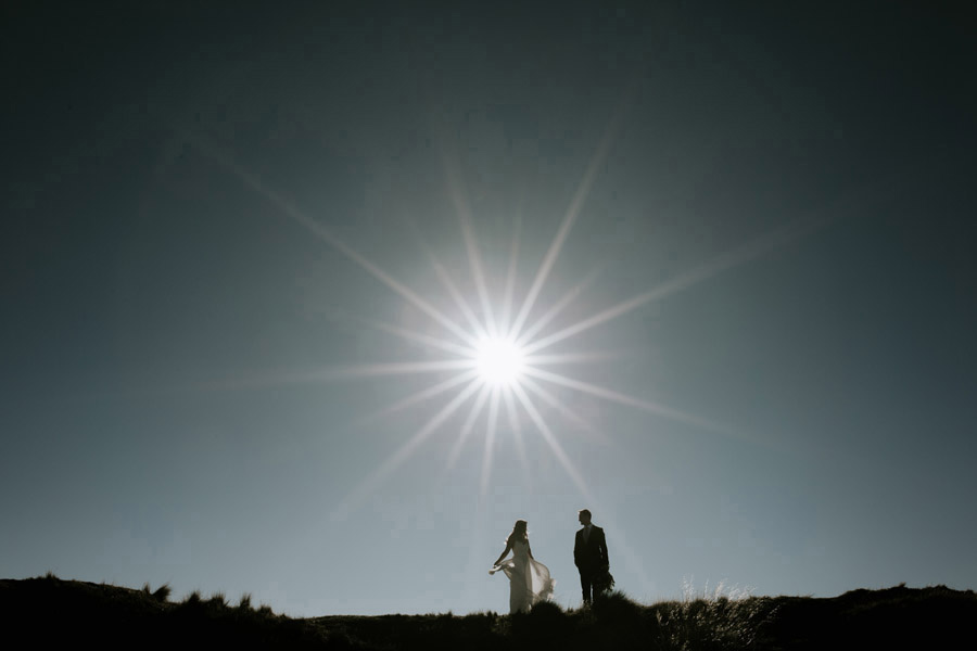 Beautiful wedding photography by Wanaka and Queenstown wedding photographers, Alpine Image Company.