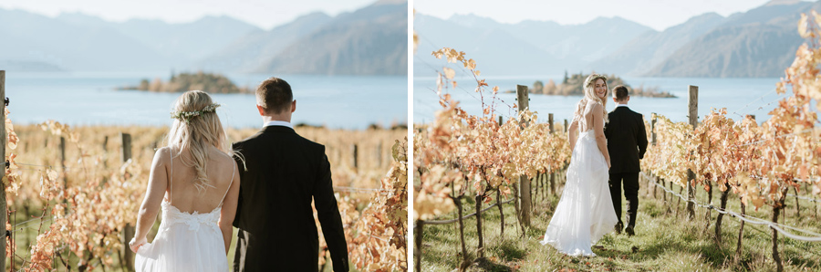 Gorgeous location photos by Wanaka wedding photographers Alpine Image Company at The Rippon Hall.