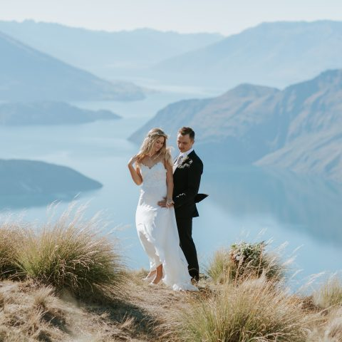 Estelle & Stas's beautiful Wanaka elopement wedding