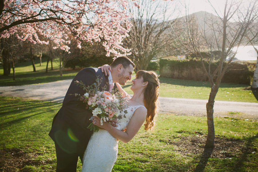 Such a gorgeous wedding candid from this Queenstown wedding by Alpine Image Company.