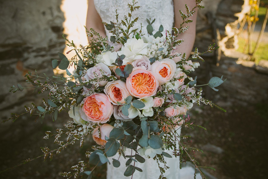 A stunning bouquet from this Queenstown wedding by Wanaka wedding photographer Alpine Image Company.