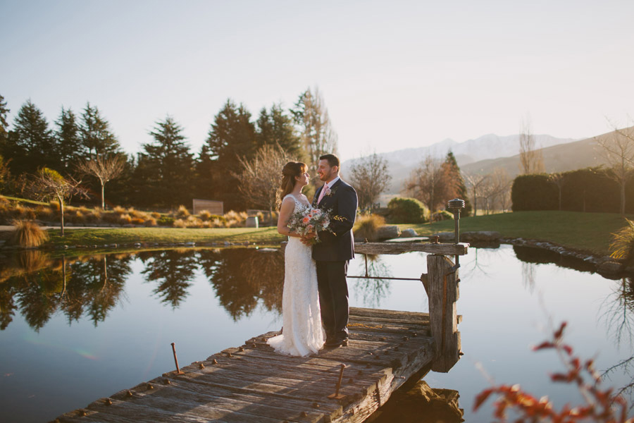 Beautiful wedding photos from Katie and Bernard's Stoneridge Estate wedding in Queenstown, New Zealand by Alpine Image Company.