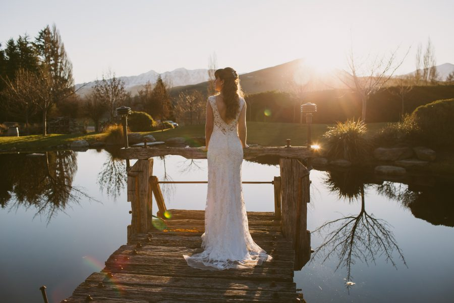 Beautiful Queenstown wedding photos from Katie & Bernard's Stoneridge Estate wedding by Wanaka wedding photographer Alpine Image Company.