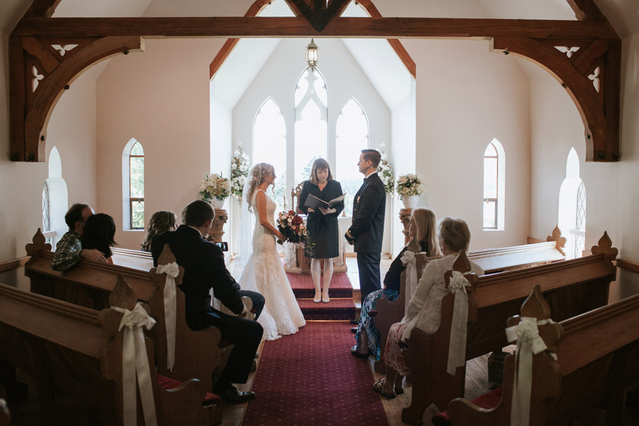 A stoneridge chapel wedding