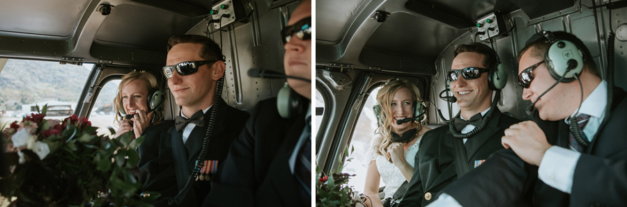A wedding day flight with all your favourite people