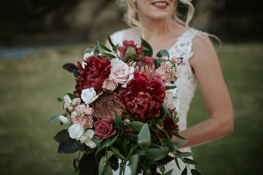 Beautiful flowers for a beautiful bride