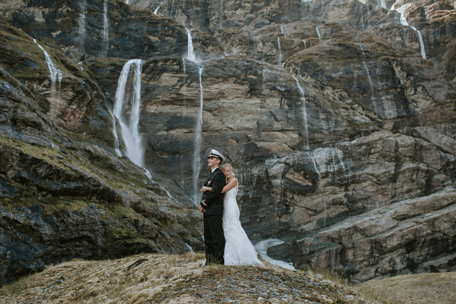 Bliss on your mountain wedding