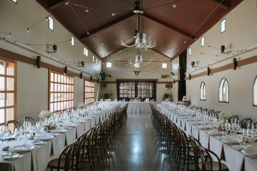 A stunning reception set up