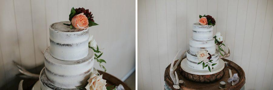 Gorgeous wedding cake at Mt Soho