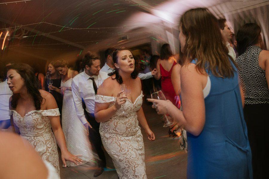 Wedding day dance offs