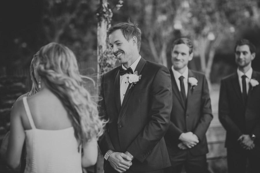 A stunning documentary shot of the Groom on his wedding day in Wanaka captured by Wanaka wedding photographer Alpine Image Company.