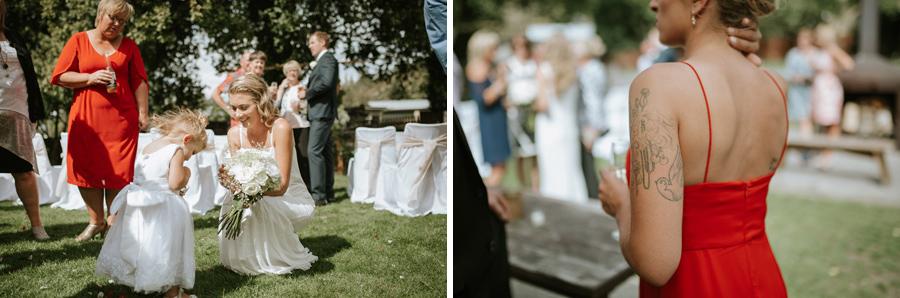 Ceremony detail shots at Kelsey and Matt's Wanaka wedding by Wanaka wedding photographers Alpine Image Company.