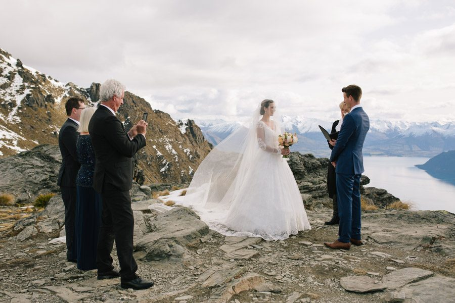Cecil peak on your wedding day