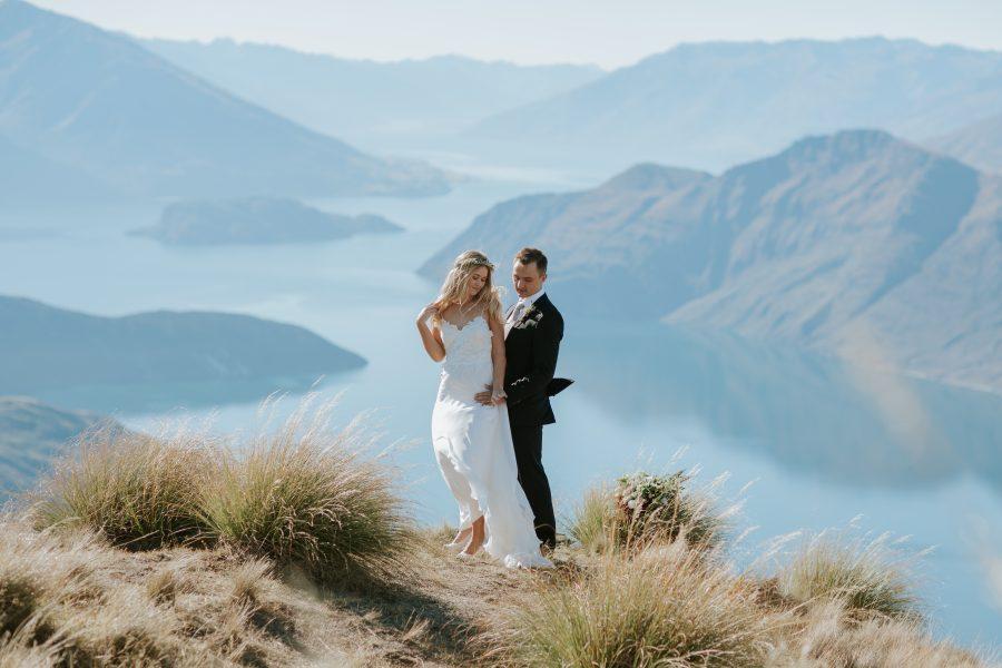 Estelle & Stas's beautiful Wanaka elopement wedding