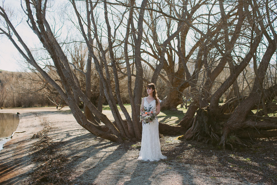 Beautiful Queenstown wedding photography by Wanaka wedding photographer Alpine Image Company.