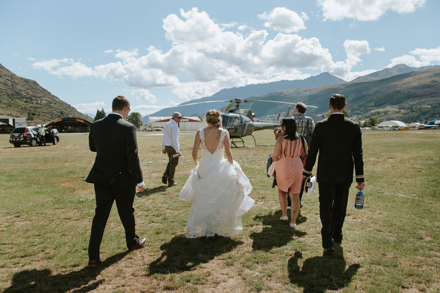 Helicopters on your wedding day