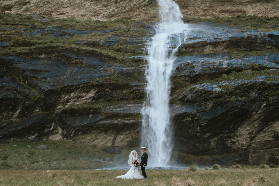 Waterfalls on your wedding day