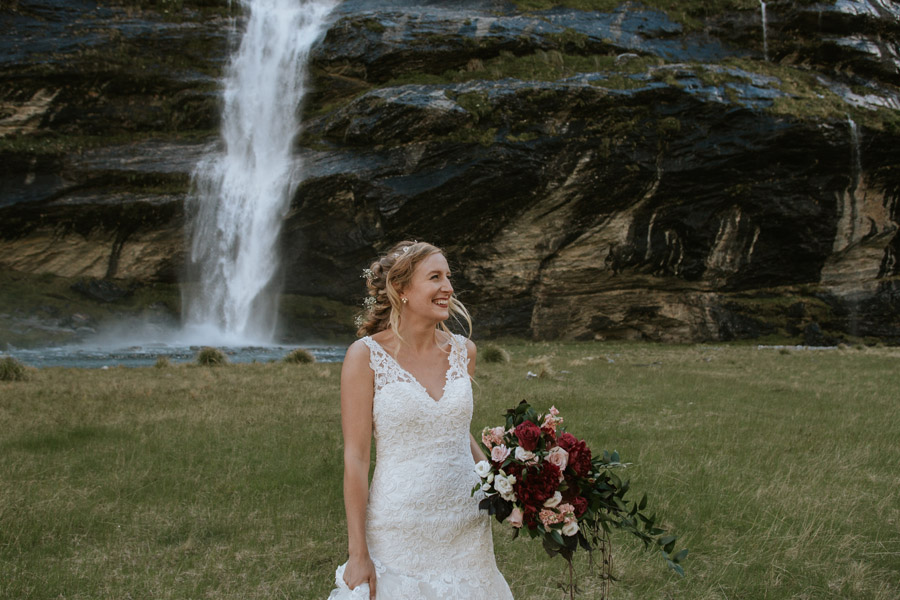 smiles and waterfalls