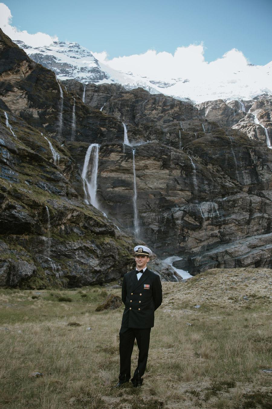 Glaciers on your Queenstown elopment wedding