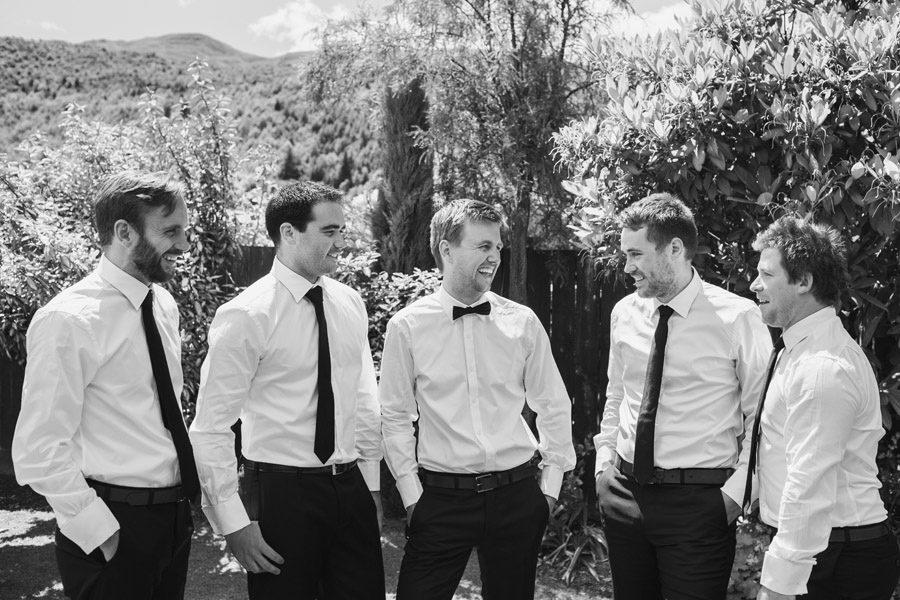 The boys groom and groomsmen looking smart pre ceremony