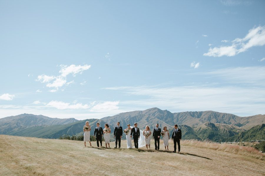 Arrowtown hills are a stunning backdrop for your wedding day