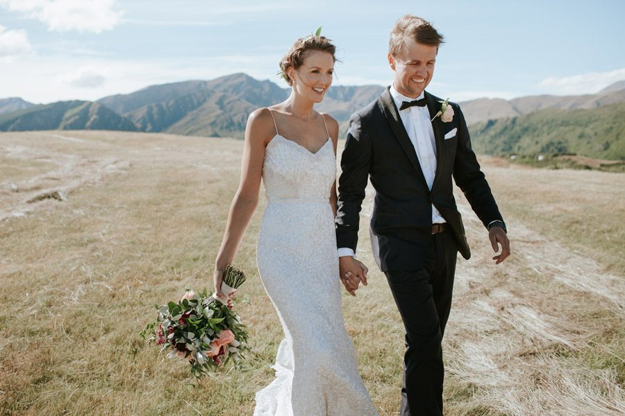 stunning couple in a stunning location