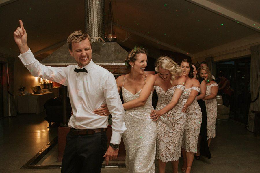 Wedding day locomotion