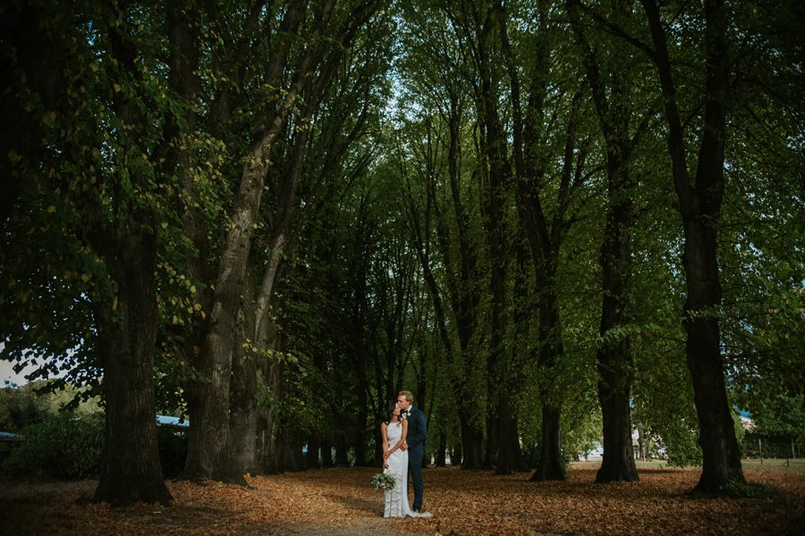Lisa and Isaacs beautiful Wanaka wedding
